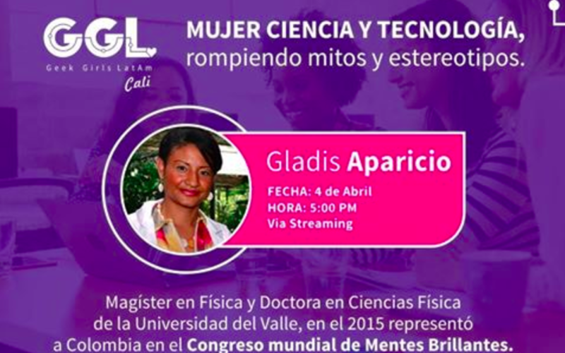 Cover gladis aparicio geek girls latam mujer steam